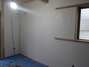 ホタテ壁塗り