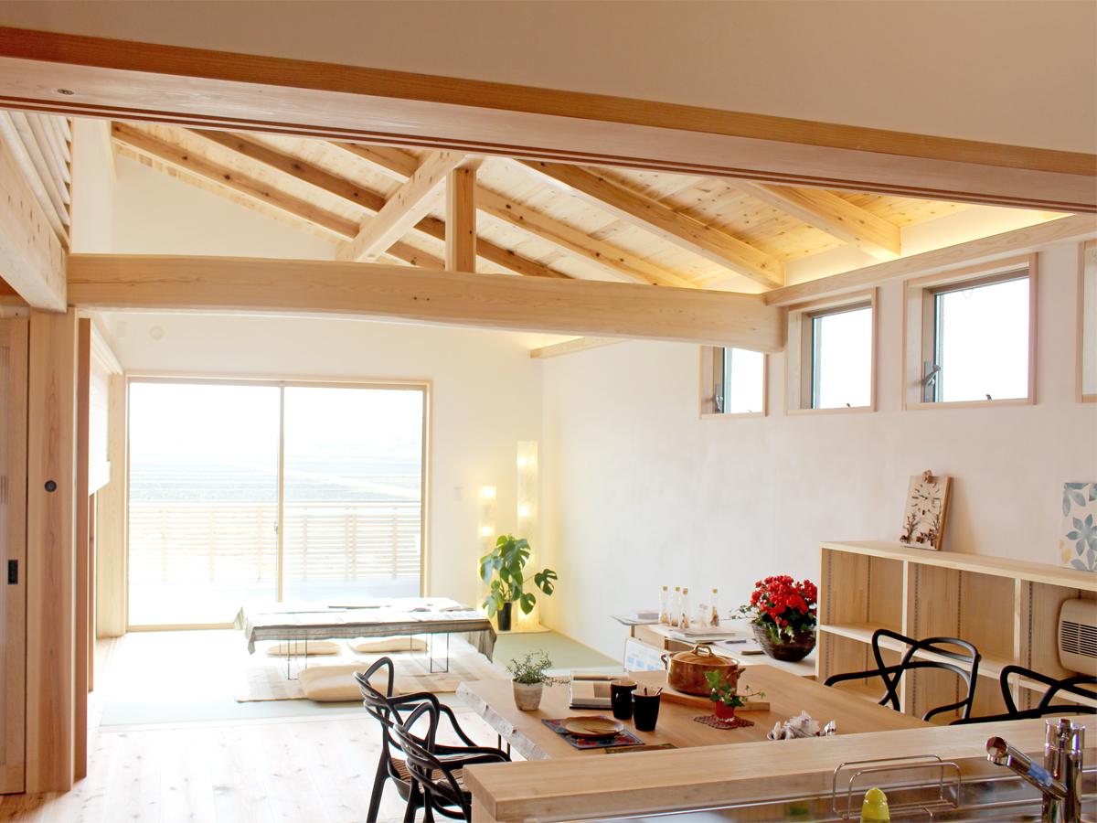 滋賀で木の家を建てる。守山市の新築実例